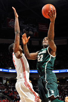 Branden Dawson could rally Michigan State in March with an energetic dunk.