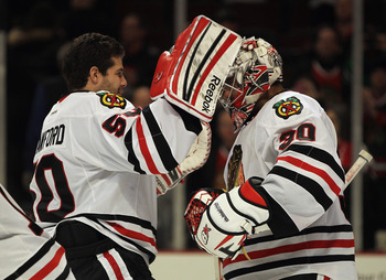 Corey Crawford and Ray Emery are a big reason why the Blackhawks are the No. 1 team in the Western Conference.