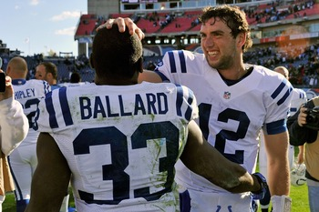 Ballard and Gio Bernard would compliment each other well in the Colts' backfield.