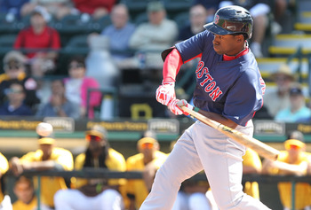 Prospect Jackie Bradley has been on fire for the Red Sox this spring.