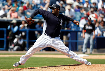 CC Sabathia looks to be healthy, a positive sign for a Yankees team decimated by injuries.