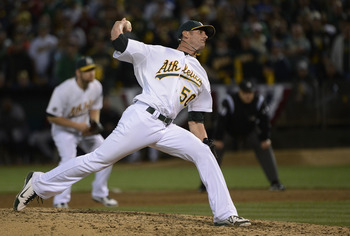A's closer Grant Balfour has bounced back quickly from surgery to repair a torn meniscus.