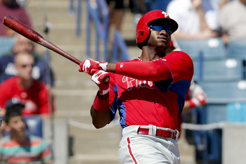 Domonic Brown appears to have a bead on an everyday starting role for the Phillies.