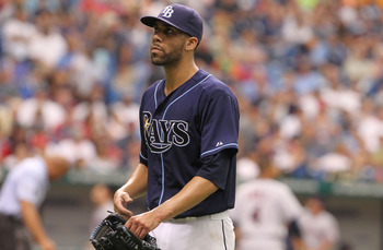 David Price will get the Opening Day start for the Tampa Bay Rays.