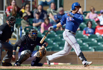 Leonys Martin is making the most of his chance this spring with the Texas Rangers.