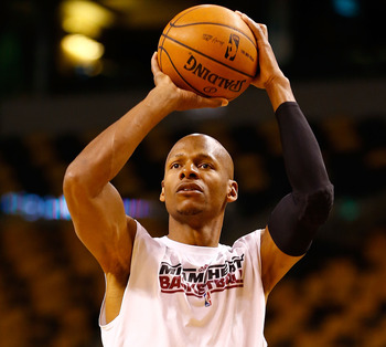 Eliminating Ray Allen from the equation increases the odds of winning.