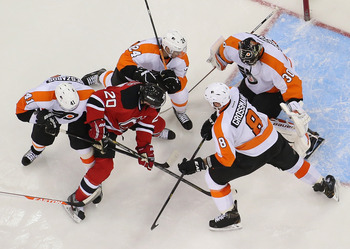 It's an important game for the Flyers as the Devils look to finish the sweep this week.