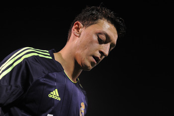 Real Madrid midfielder Mesut Ozil