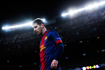 Barcelona forward Lionel Messi