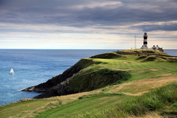 How about that for a view at the 4th at Old Head?