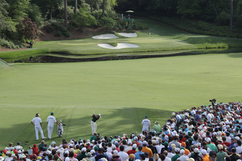 It doesn't get much prettier than the look from the 12th tee at Augusta National.