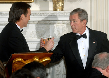 Governor Pawlenty and President Bush