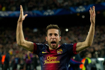 Alba is vital to Barcelona's style of play domestically and in Europe