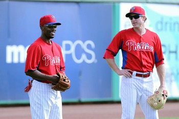 Jimmy Rollins and Chase Utley.