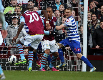 Christian Benteke grabs the winner for Aston Villa against QPR.