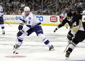 Vincent Lecavalier of the Tampa Bay Lightning.