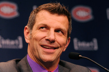 Marc Bergevin of the Montreal Canadiens.