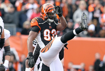 The Bengals secured Michael Johnson via the franchise tag.