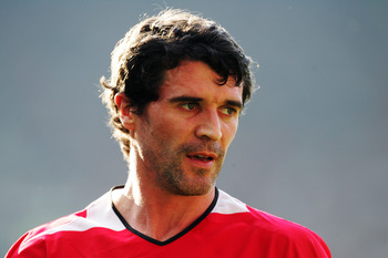 Roy Keane was a legendary leader for Manchester United.
