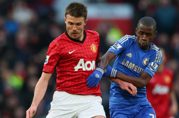 Michael Carrick Against Chelsea