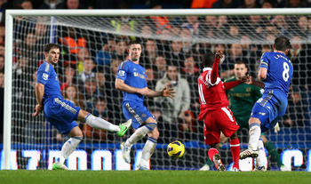 Shaun Wright-Phillips scoring the winner at the Bridge for QPR in January
