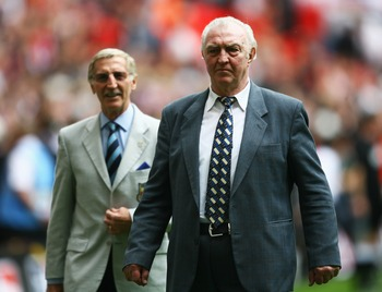 The late Bobby Smith at the 2007 FA Cup final