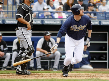 Third baseman Chase Headley hopes to show that last year's breakout season wasn't a fluke.
