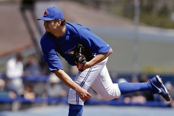 Josh Johnson will be the No. 2 starting pitcher in the Blue Jays rotation.