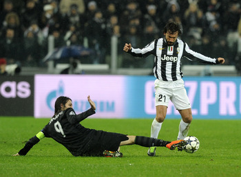 Andrea Pirlo has been a vital cog in Juventus' engine room