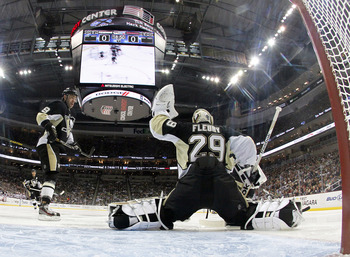 The Pittsburgh Penguins have won eight in a row.