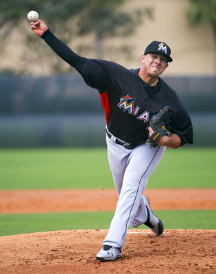 In his only inning of work this spring, Jose Fernandez struck out two in two scoreless innings of work.