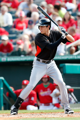 Christian Yelich has carried a big stick this spring. He's hitting .368 with four home runs and 12 RBI.