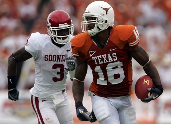 If he commits, Jones would be the most athletic tight end Texas has had since Jermichael Finley (above).