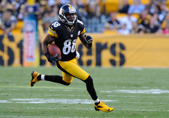 The status of Sanders will dictate how the Steelers will handle the situation at wide receiver.