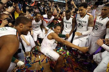 Miami secured a No. 2 seed with their first-ever ACC title.