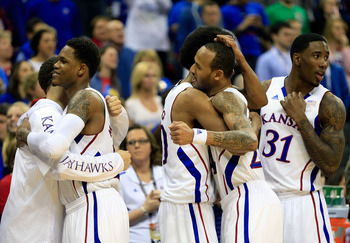 The Jayhawks secured a top seed with the Big 12 title.