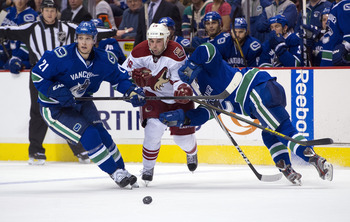 The Coyotes and Canucks will renew hostilites on Thursday in Phoenix