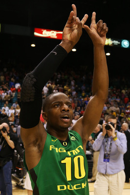 Oregon junior guard Johnathan Loyd.