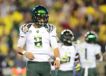 Marcus Mariota and the Ducks possess one of the most potent offenses in college football.