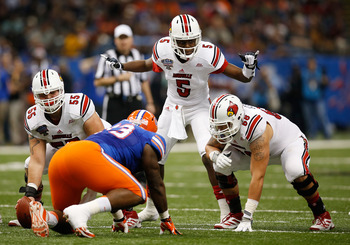 Bridgwater and the Louisville offense torched the Gators in the Sugar Bowl.
