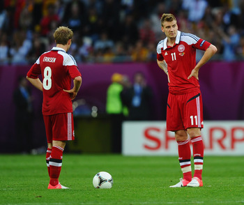 Denmark are experiencing a difficult period in international football