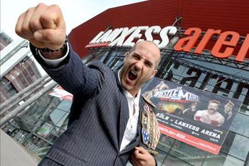 Who will face Antonio Cesaro at WrestleMania 29? (photo credit: wwe.com)