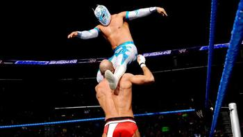 Can Sin Cara get another win against Cesaro at WrestleMania 29? (photo credit: wwe.com)