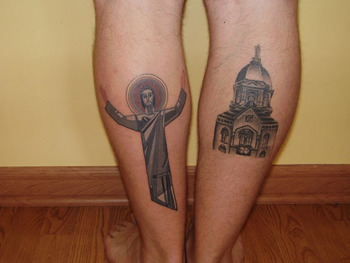 10 worst fan tattoos in college football bleacher report. Black Bedroom Furniture Sets. Home Design Ideas