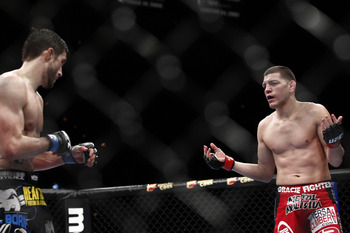 Nick Diaz and Carlos Condit - Esther Lin/MMAFighting