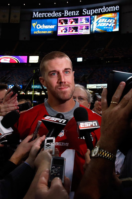 Former first-overall pick Alex Smith was traded to the Kansas City Chiefs in exchange for two draft picks.