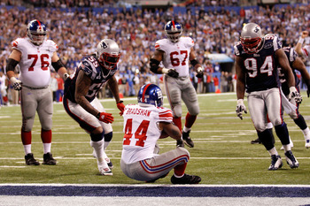 Ahmad Bradshaw embodied toughness during his time with New York