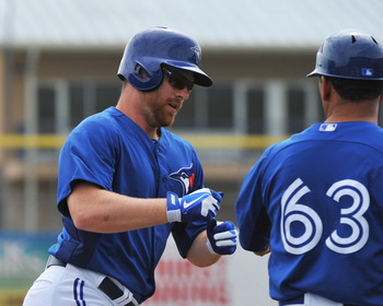 The Blue Jays' Adam Lind.