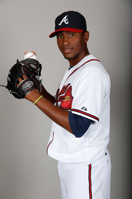 Braves' top prospect Julio Teheran.