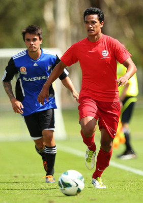 Tahiti played a recent friendly against Syndey FC.
